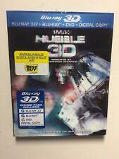Hubble (Blu-ray, 2011, 2-Disc Set, 3D/2D) w/lenticular slipcover