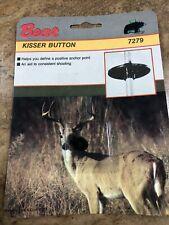 NOS Vintage Fred Bear Archery Kisser Button Compound /  Recurve Bow.