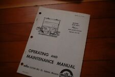 Miller Welder Mhfc Mw 1 Wire Feeder Control Operation Maintenance Manual Owner