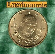 Vatican 2010 - 50 Centimes D'Euro - 94 000 exemplaires Provenant du BU RARE