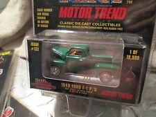 1948  FORD F-1 PICKUP TRUCK   Racing Champions mint edition # 133  1:58 GREEN