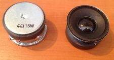 PAIR OF SMALL SPEAKERS / TWEETERS 15W 4 OHMS 41MM - Compact high quality