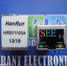 20Pieces* Brand New Hanrun HR911105A HR911105 RJ-45 Network Transformer
