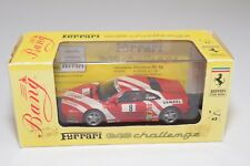 V 1:43 BANG 9408 FERRARI 348 CHALLENGE 94 KARL BARON RED MINT BOXED