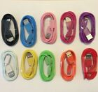 Micro USB Charger Fast Charging Cable Cord Lot Samsung Android Phone. 10 Colors