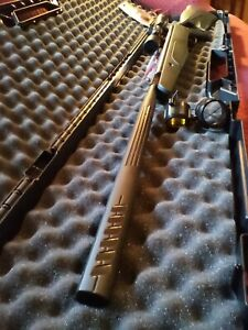 🔥Crosman Exclusive F4 .177 Air Rifle with Scope, Polymer Case & Pellets🔥