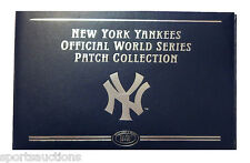 WILLABEE & WARD ~ NEW YORK YANKEES WORLD SERIES PATCH COLLECTION ~ BINDER ONLY ~