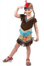 Indianerin Kostüm Gr. 98 104  Indianer Mädchen Kleid Fasching Karneval Kinder