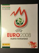 UEFA Euro EM 2008 Panini komplett Leeralbum Stickersatz lose complete