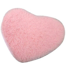 Heart-Shape Soft Fluffy Bedroom Rug Carpet Floor Mat Cover Decoration New