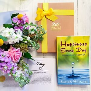 Happiness Every Day Book by Safiya - Islamic Gift Muslims (Luxury Gift Box Eid)