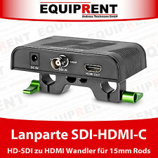 Lanparte SDI-HDMI-C HD-SDI a HDMI convertidor/convertidor para 15mm Rods (eqm82)