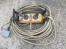 Kranfernbedienung Baukran Peiner ca 15 Meter Kabel SPOHN BURKHARD   *Rechnung*