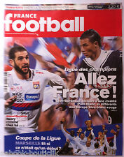 FRANCE FOOTBALL 30/03/2010; Ligue des Champions/ Ribéry/ Coupe de la ligue