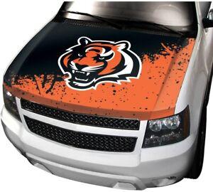 Cincinnati Bengals Premium Hood Cover Decal Auto Car Truck Stretchable Football
