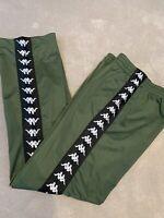 Kappa Green Trousers S Slim Fit