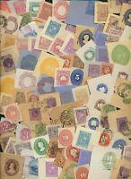 Foreign Corner Cut Squares Lot of 32 assorted Philatelic oddities