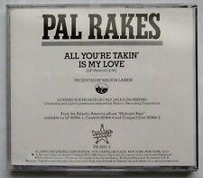 """All You're Takin' Is My Love"" (rare CD promo/Atlantic) MIDNIGHT RAIN, PAL RAKES"