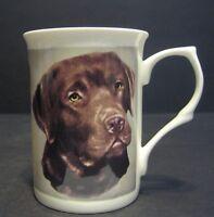 Labrador Chocolate Dog Fine Bone China Mug Cup Beaker
