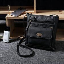 Men's Women Shoulder Bags Handbag Purse Leather Messenger Cross Body Bag Satchel