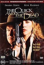 THE QUICK AND THE DEAD - BRAND NEW & SEALED R4 DVD (SHARON STONE, GENE HACKMAN)
