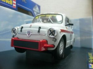 WOW EXTREMELY RARE Fiat 600 Abarth 1000TC Köster Nürburgring 1965 1:18 Revell-GT