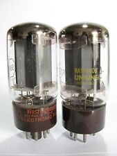 Pair 1964+/- Tung-Sol 5881 (6L6WGB) tubes - Hickok TV7B tested @ 40, 40, min:25