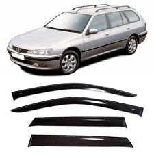 For Peugeot 406 Wagon 1995-00 Window Visors Side Sun Rain Guard Vent Deflectors