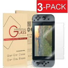 3-Pack Premium Tempered Glass Screen Protector for Nintendo Switch