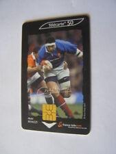 telecarte le rugby abdel benazzi 50u ref phonecote F1122