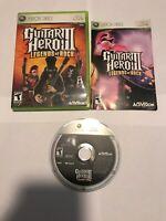 Guitar Hero III: Legends of Rock (Microsoft Xbox 360, 2007)