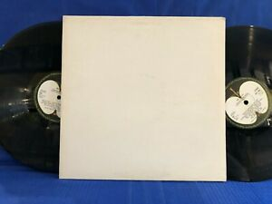 THE BEATLES WHITE 2LP NO INSERTS 70'S  RE UK LP NEAR MINT