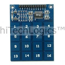 TTP229  16- Channel Digital Touch Sensor/4 x 4 Capacitive Switch Keyboard Module