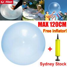 120cm Wubble Bubble Ball Firm Water Balloons Inflatable Soft Refillable Stretch