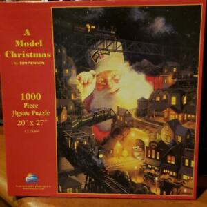 """"""" A MODEL CHRISTMAS"""" BY SUNS OUT: 1000 PC JIGSAW"""