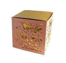 Hollow Cut Flower Pattern Candy Box Wedding Favor Baby Shower