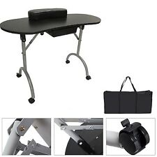 PORTABLE MANICURE TABLE NAIL TECHNICIAN DESK WORKSTATION WRIST REST NAIL TABLE