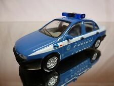 MAISTO FIAT MAREA - POLIZIA - POLICE POLIZEI - BLUE 1:43 - GOOD CONDITION