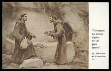 "santino-holy card""VITA S.FRANCESCO D'ASSISI 4"