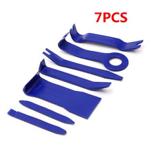 7pcs Blue Auto Door Panel Dash Audio Radio Stereo GPS Trim Removal Molding Tools