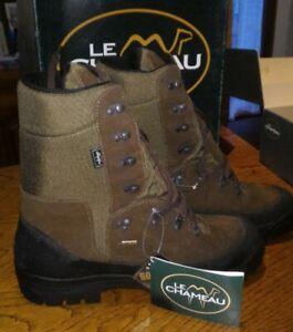 Chaussures marche trek   randonnée chasse pointure 47 LE CHAMEAU   Cuir Gore-Tex