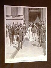 Venezia nel 1901 Visita dei Sovrani alla IV Esposizione d'Arte internazionale