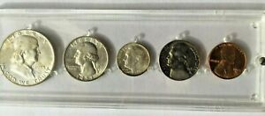 1953-D Mint Set ~ BU Uncirculated ~ Silver US Coin Lot Denver BEAUTIFUL