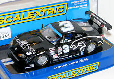 Scalextric C3013 Jaguar XKRS Rocketsports #3 Brand New 1/32 Slot Car