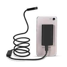 HD Waterproof Wifi Endoscope iPhone Android Borescope Inspection 6LED Camera UK