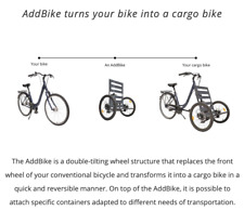 Cargo Attachment for Bicycle