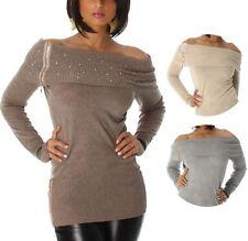Schulterfreie Normalgröße Damenkleider in Größe 38