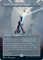 Sword of Light and Shadow - Foil - Borderless x1 Magic the Gathering 1x Double M