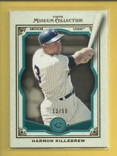 Harmon Killebrew 2013 Museum Collection TEAL Parallel Card # 95 ser #'d / 50 MLB