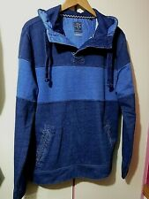 Mens FAT FACE Hooded Sweatshirt  .. Small  ..  Loose Fit
